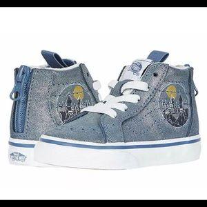 Vans Girls Sk8-hi zip Harry Potter shoes